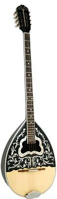 Sakis Model 2 GREEK BOUZOUKI, walnut striped bowl back, Solid top.From Hobgoblin