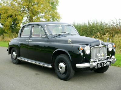 Stunning 1961 Rover 80 P4. Only 38,000 Miles From New. Original Buff Log Book.