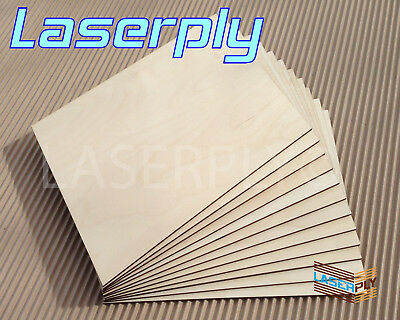 Birch Laser Ply Interior*  For Crafts, Pyrography, 0.8mm or 1.5mm BR/BR=A grade
