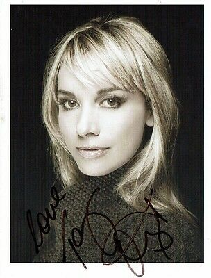 Kim Catrall American Actress Hand Signed Photograph 8 x 6