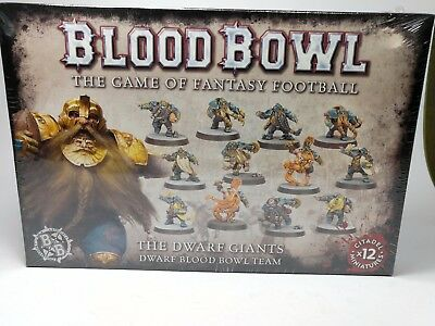 Blood Bowl - the Dwarf Giants - Zwergen Blood Bowl Team - 12 Miniaturen - OVP