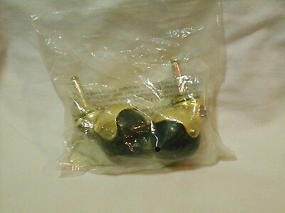 Waxman Casters    Pack Of 2    Hooded    0067039    Stem    NEW