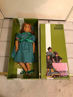 Reflections of Youth By Annette Himstedt Andrienne Doll #4845 Girl Blue Eyes Box