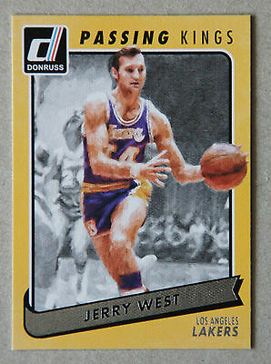 Panini Donruss 15/16 Passing Kings #16 Jerry West