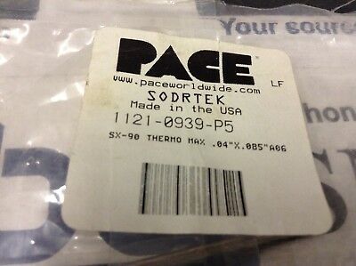Lot of (5) PACE 1121-0939-P5 Soldering Tips