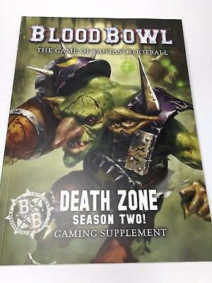 Blood Bowl - Death Zone Season Two! - Gaming Supplement - englische Erweiterung