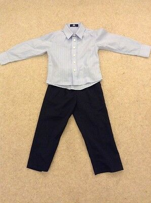Boys 3 Piece Set Shirt, trousers and tie From Bhs Worn Once Age 3 Ideal Weddings