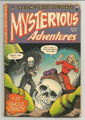 Mysterious Adventures #15 Classic Skull bowling ball cover, Severed Head Panels!
