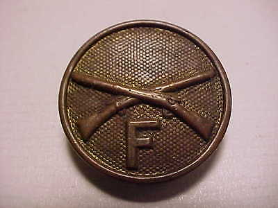 Army Infantry Company F Collar Disk