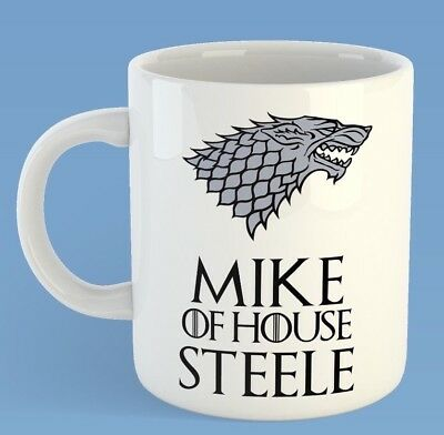 Name Of House Personalised Game Of Thrones Inspired Mug