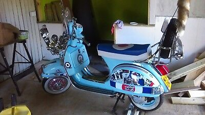 Vespa Lml 125 4 Star  Custom Scooter