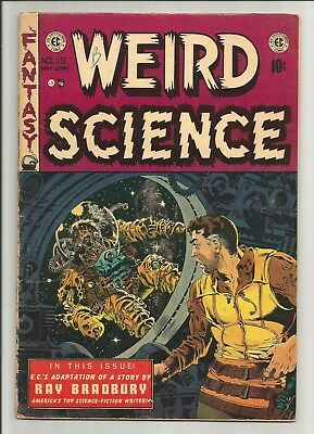 WEIRD SCIENCE # 19  Classic ZOMBIE Astronaut cover by Wally Wood!!!