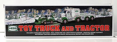 2013 Hess Collectible Toy Truck And Tractor - Nib