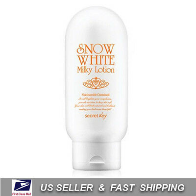[ SECRET KEY ] Snow White Milky Lotion - 120g +Free Sample+