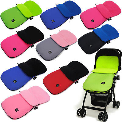 Delux Footmuff / Cosy Toes Buggy Stroller Pram Pushchair Universal Compatible