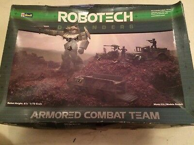 Vintage Revell Robotech Defenders Armored Combat Team (1984) MAYBE MISSING SOME