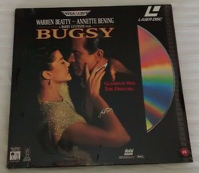 Bugsy (Laser Disc) New/sealed
