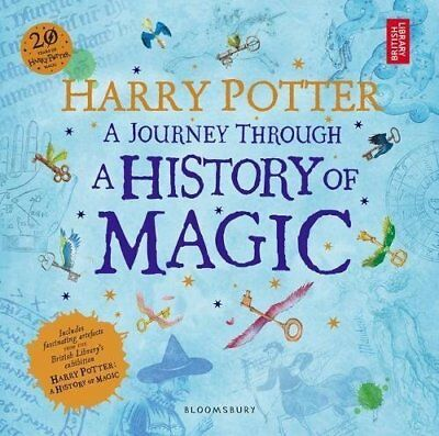 Harry Potter - A Journey Through A History of Magic Paperback BRAND NEW Book