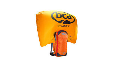 Lightly Used BCA Float 8 Orange Avalanche Pack With Brand New Cylinder