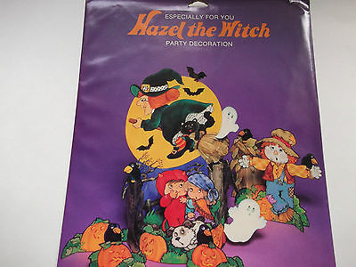 VTG Halloween American Greetings Decoration Die Cuts Cut Out Party Decorations