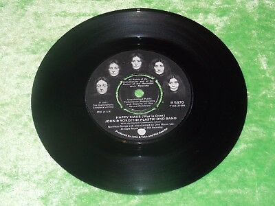 "JOHN LENNON : Happy Xmas (war is over) - Orig 1972 Christmas 7"" EX .... save 20%"
