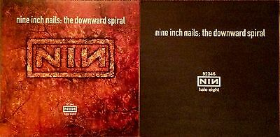 Nine Inch Nails The Downward Spiral RARE promo 12 x 12 poster flat '94