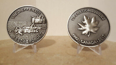 Operation Jubilee Dieppe Raid Collectible Commemorative Coin