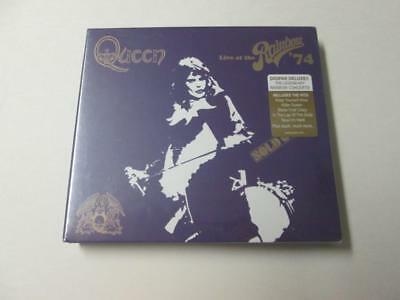 New Sealed Queen Live at the Rainbow '74 2 CD Deluxe Edition Digipak