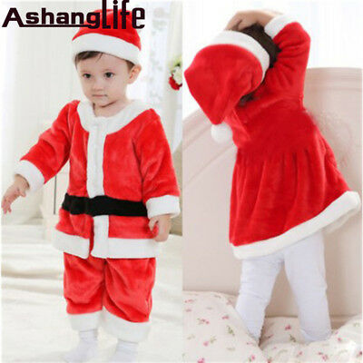 Santa Claus Clothes Christmas Child Performance Dresser Boy 0-3 years old