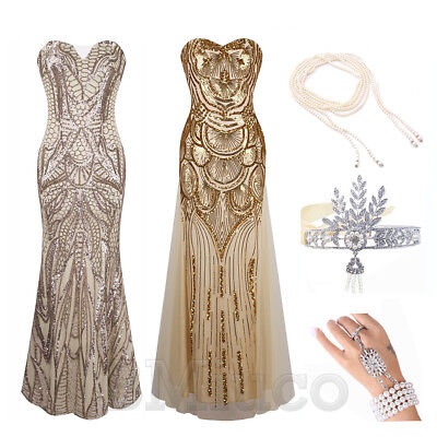 1920s Flapper Dress Great Gatsby Dresses Cocktail Party Straples Bridesmaid Prom