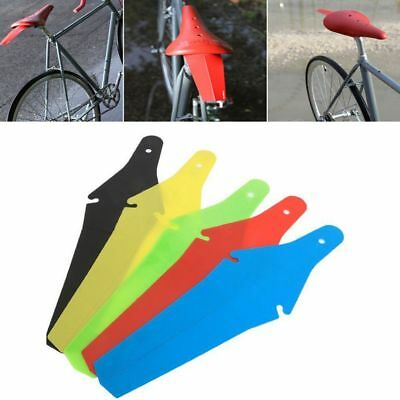 Cycling Bicycle Extended Rear Ass Fender Saddle Clip Mudguards Road MTB Saver