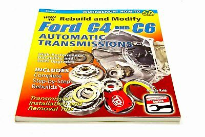 S-A Books How to Rebuild and Modify Ford C4 and C6 Automatic P/N 227