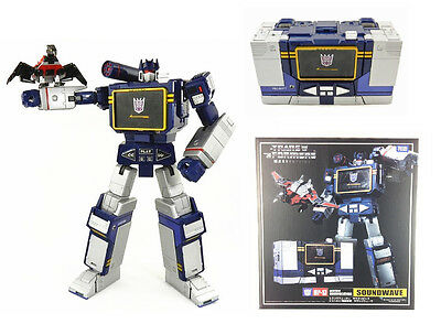 Transformers MP13 G1 Soundwave Laserbeak Action Figure Doll New in Box