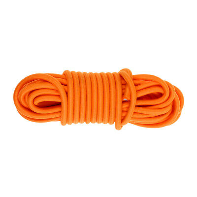 Elastic Bungee Rope Shock Cord Tie Down 5m Length 5mm Thickness - Various Colors