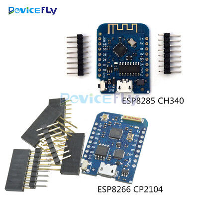WEMOS D1 Mini Pro WIFI ESP8266 ESP8285 CP2104 CH340 Development Board NodeMCU