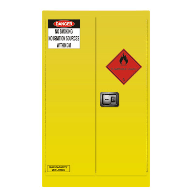 $400 off 250L Dangerous Goods Cabinet, Flammable Liquids Storage Cabinet