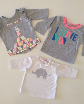 Baby Girl Tops Newborn Size 0000