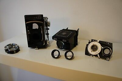 Yashica Flex 635 TLR,- Spares or Repairs