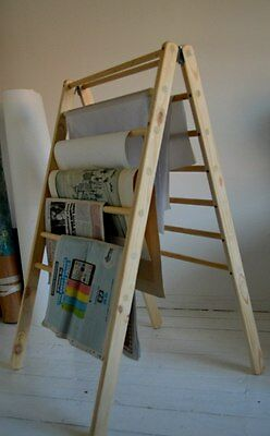 Magazine, Book, Storage Hand-Made Ladder, Rack