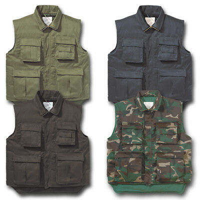 Padded Bodywarmer Hunting Vest Classic Rugged Raw Fishing Hiking Shooting