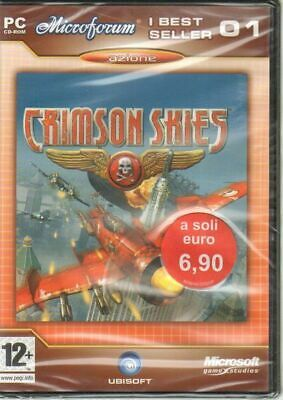 CRIMSON SKIES Videogioco PC ITALIANO NUOVO Sealed