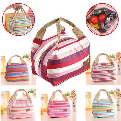 SchooI Office Lunch Bag Waterproof Lunchbox Kids Adult Insulated Cooler Bag