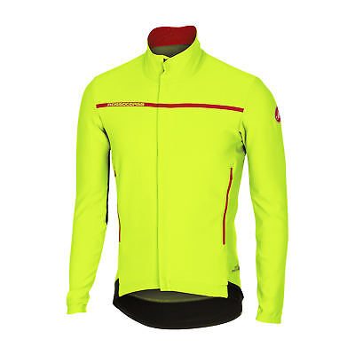 Castelli  Giacca  Perfetto Long Sleeve Yellow