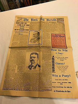 The Rock Hill Herald reprints of famous headlines