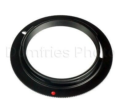 M42 Screw Lens to PENTAX K PK Mount Adapter (Non-Infinity, Non-Flanged type)