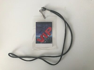 Iron Maiden backstage pass laminate / ozzy metallica