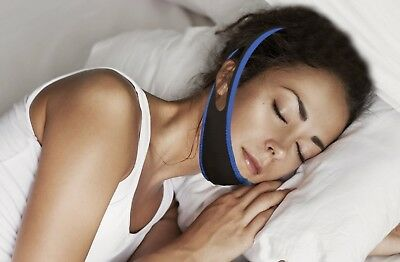 Quality Anti Snoring Chin Jaw Strap Device Solution Stop Snore Helps Sleep Apnea