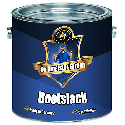 Goldmeister Farben Bootslack Yachtlack Bootsfarbe Holz Metall / GFK FARBAUSWAHL