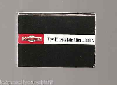 Drambuie Liqueur Box of Wooden Matches-Black with Red Head-Atlas Match Corp