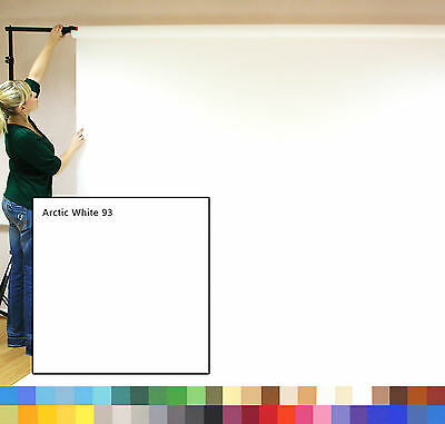 ARCTIC WHITE Creativity Photographic Background Paper 2.72 x 11m Roll - 111293